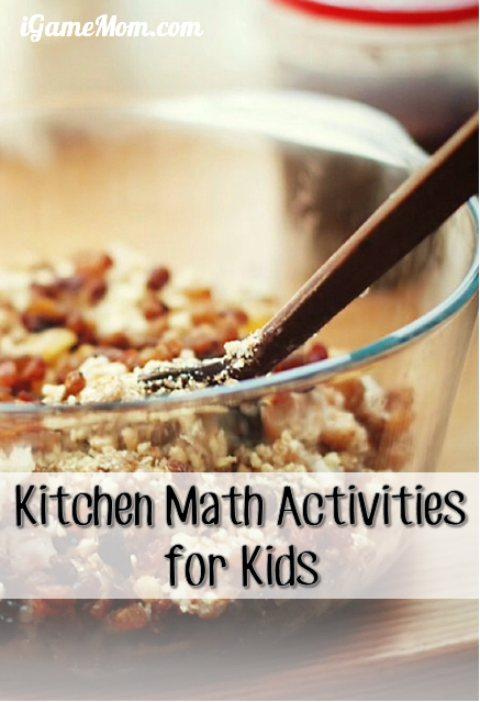 kitchen math activities for kids