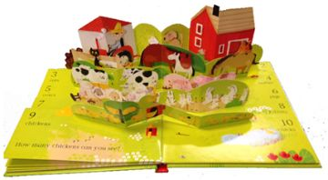 my farm pop up book