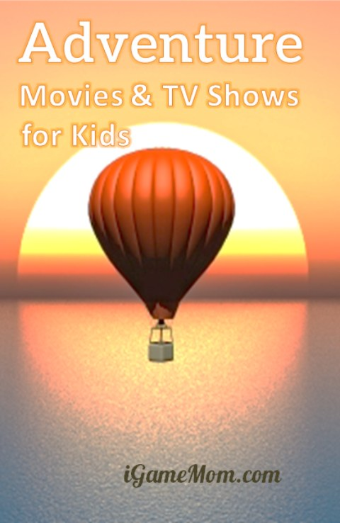 Adventure movies and TV shows for kids on Netflix -- all kids like adventures, these are great movies to share with kids.