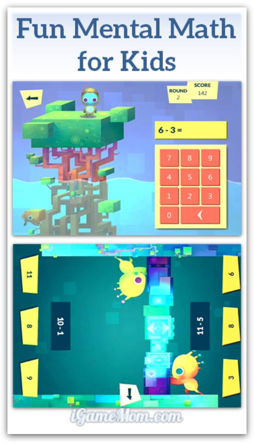 Fun mental math app for kids
