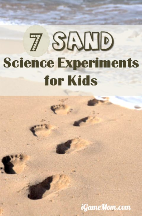 Planning family beach vacation with kids? Try these fun sand science experiments for kids and the whole family | sandbox | backyard | park | outdoor | STEM | activities