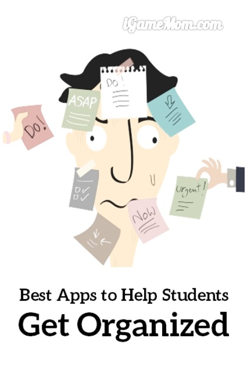 One of the best study tips for middle school and high school students: use homework organization tools. These apps help kids get organized with school work, such as homework, projects, exams, grades, … |learning skill tools | elementary school |  middle school | high school | college.