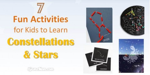 fun activities for kids to learn stars constellations