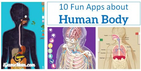 fun apps about human body for kids