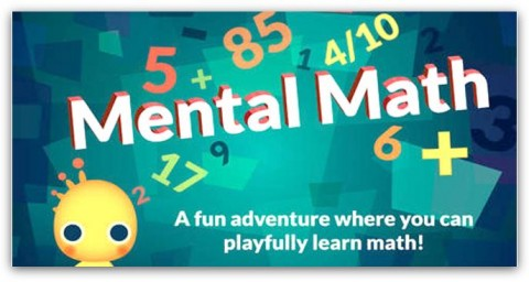 mental math app for kids