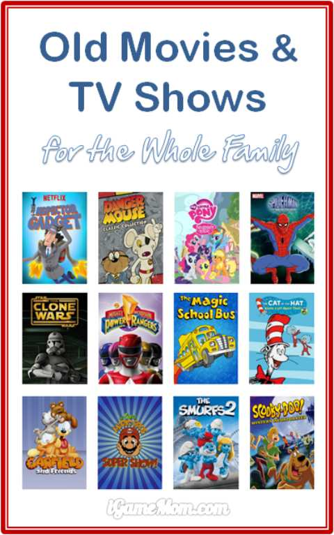 old movies to share with kids