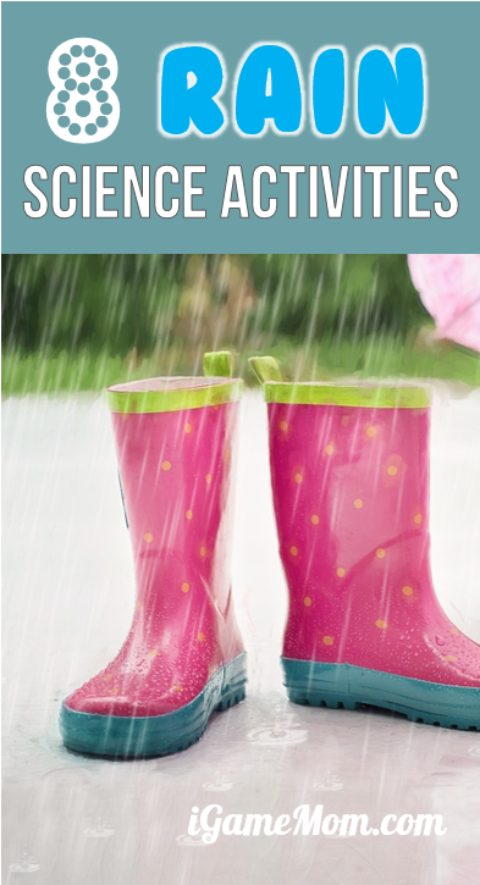 Rain Science for Kids