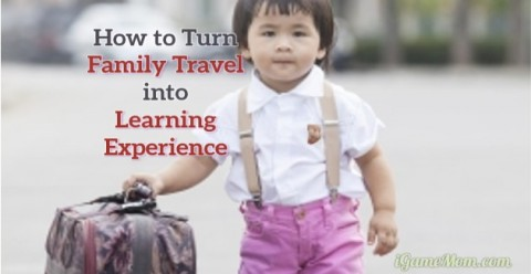 turn family travel to learning experience with kids