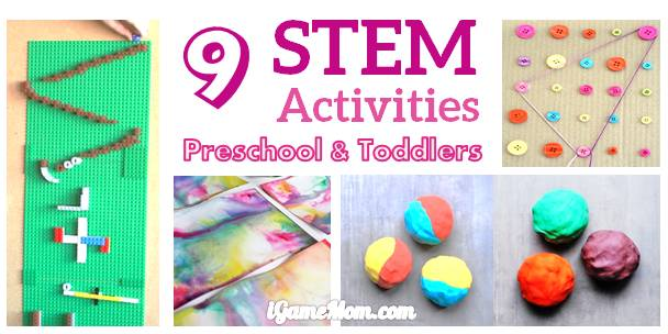 10 Stem Activities For Preschoolers And Toddlers