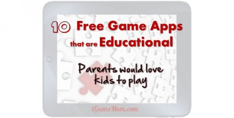 free educational game apps