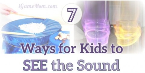 7 scientific experiments for kids to see the sound