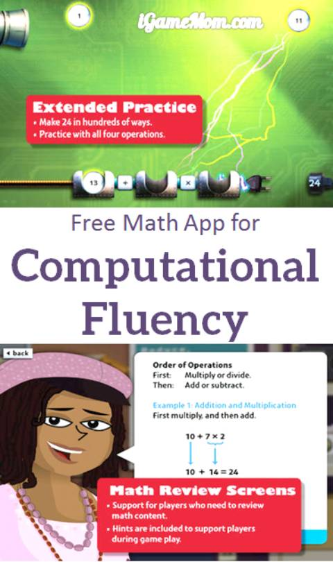 Free math app for computational fluency - Door24