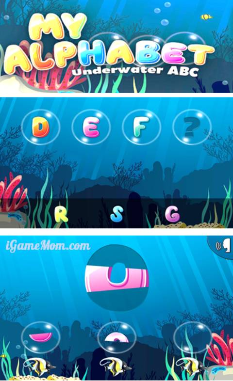 fun alphabet app for toddler and preschooler to learn ABC