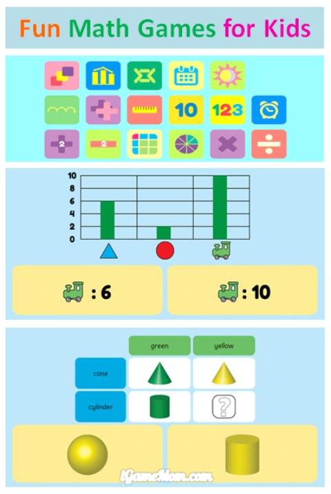 fun math game for elementary school kids - mathlab grade 2