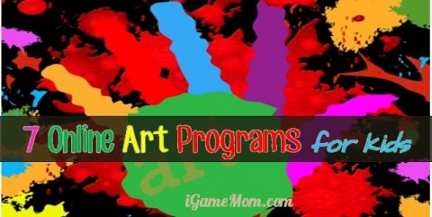 kids online art programs