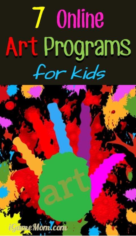 7 Online Art Programs For Kids