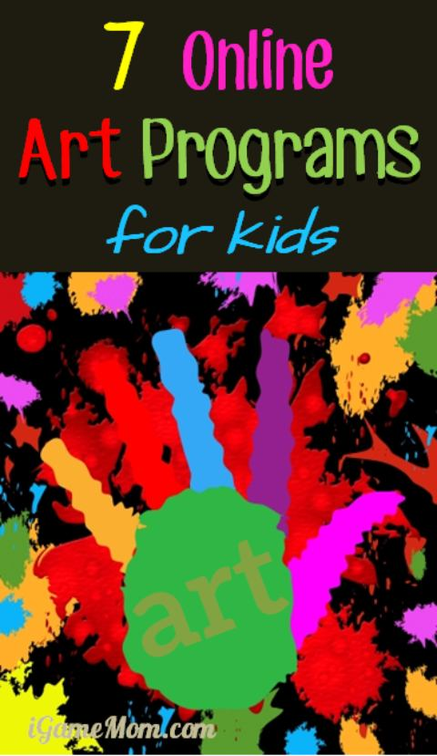 7 Online Art Programs For Kids