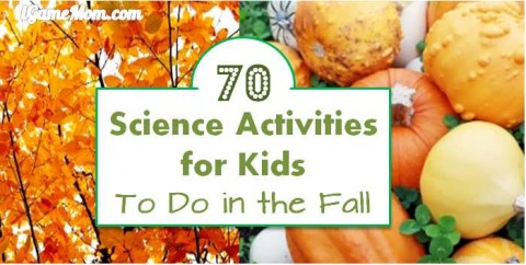 science activities for kids to do in the fall