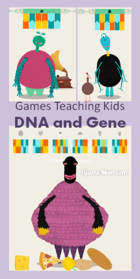 How do you explain DNA and genes to kids? With this fun interactive app, kids will learn the basic concepts of DNA and gene, and how do they impact different life's shapes and functions. A fun STEM app for kids from preschool to kindergarten to school age.