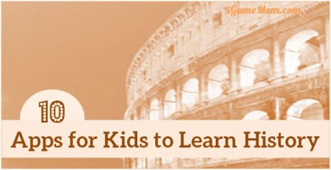apps for kids learn history