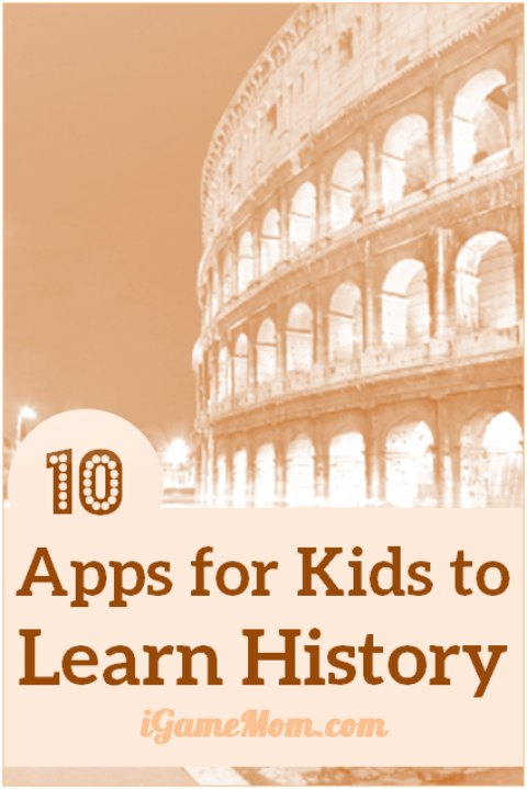 Do you like history? These 10+ apps are taking history teaching / study to a new level, with multi-media materials, role play games, interactive quizzes, and many fun activities kids love to play. Now you can travel the world and history right at your desk, in your classroom or home.   technology education resource