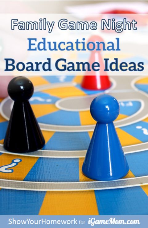 Educational Board Game Ideas for Family Game Night