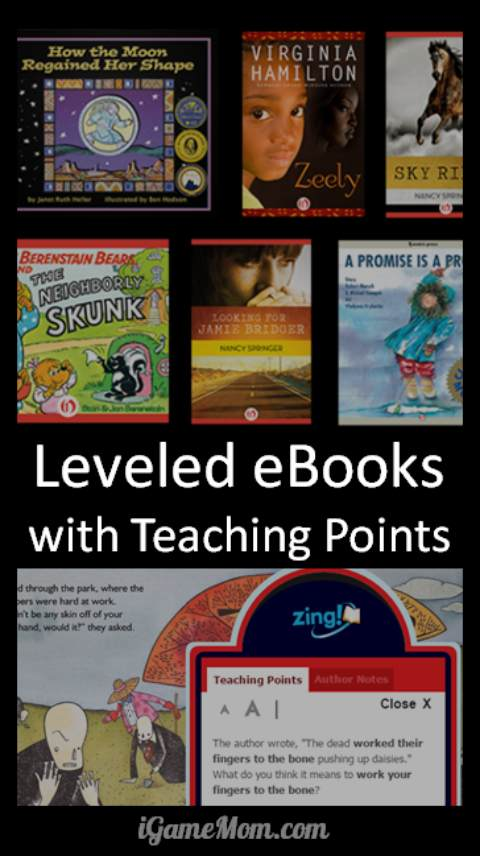 free leveled eBooks for kids with thousands of book choices
