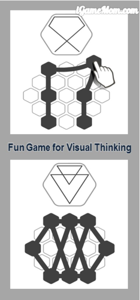 fun game app for visual thinking dimensional thinking