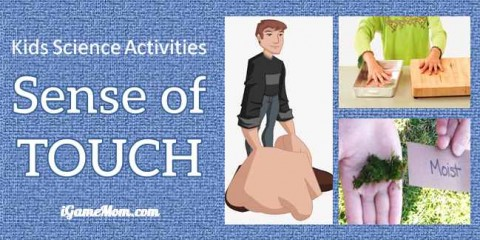 kids science activities sense of touch