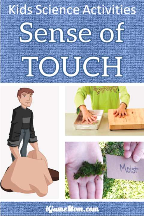Learn sense of touch facts by science experiments | STEM activities | 5 senses | preschool | kindergarten | school science fair project