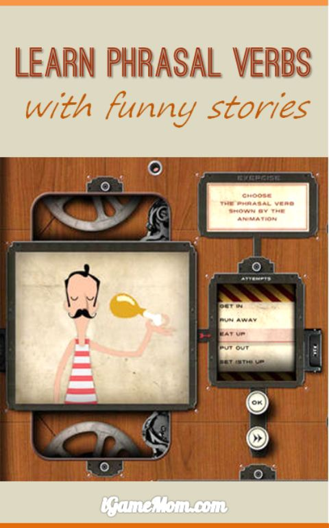 learn English phrasal verbs with funny stories phrasal verbs machine free app