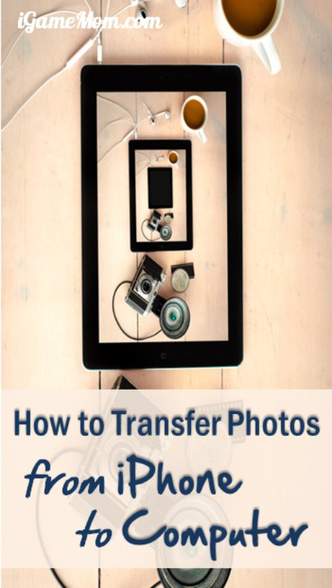 How to transfer photos from iPhone to Computer without using iTunes iCloud and any other online service