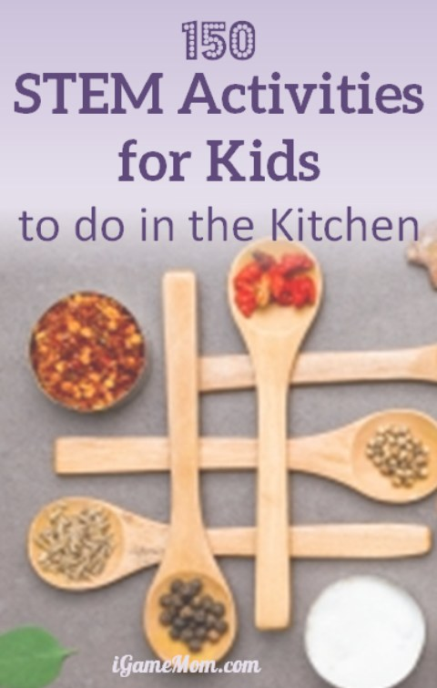 STEM activities for kids in the kitchen