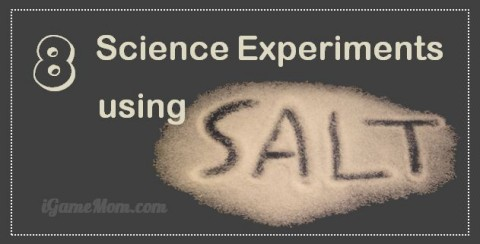 kids science experiments with salt