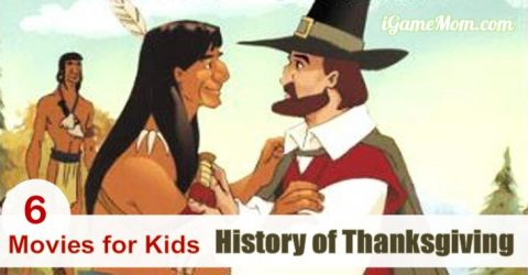 movies for kids learn Thanksgiving history