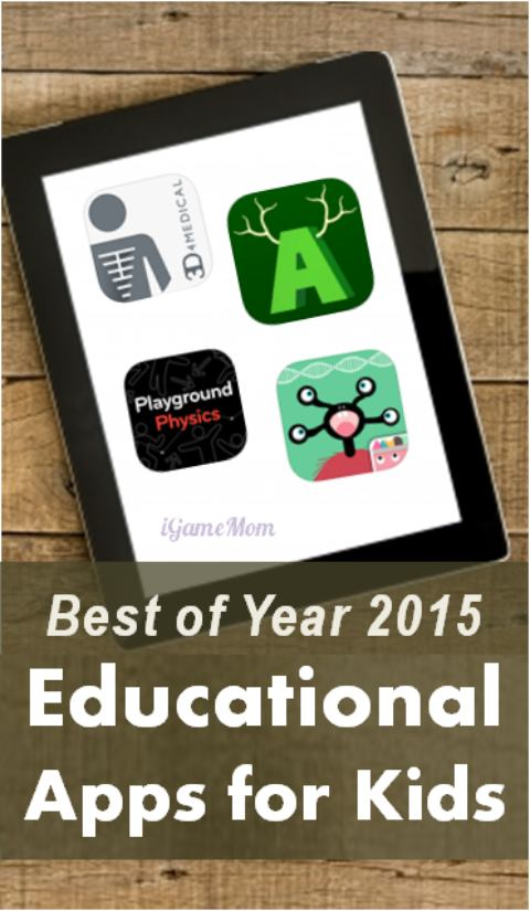 Best Educational Apps for kids the year of 2015