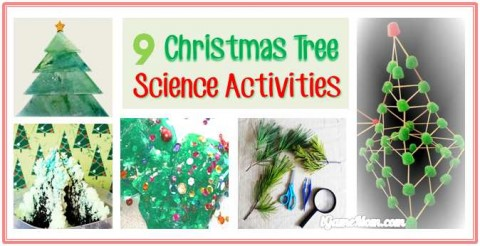 Christmas Tree Science Activities Parents Do with Kids