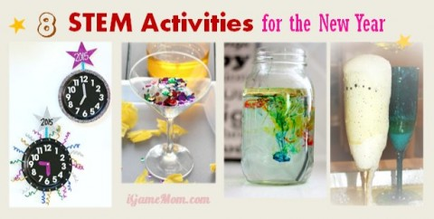 New Year STEM activities for kids
