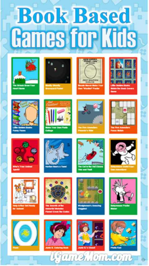 book based games activities for kids from Random House