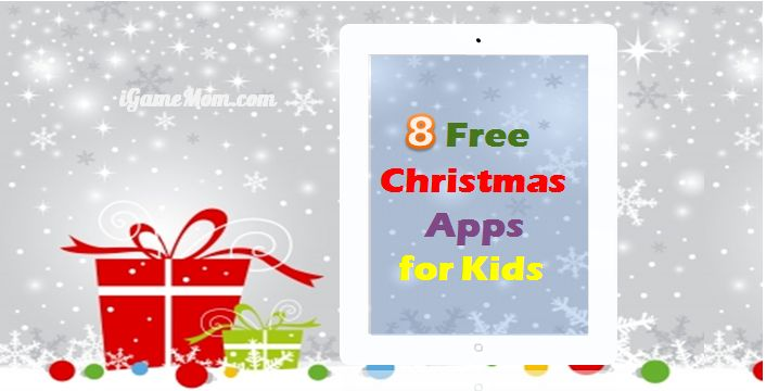 8 christmas apps for kids that cost nothing - Free Christmas Apps