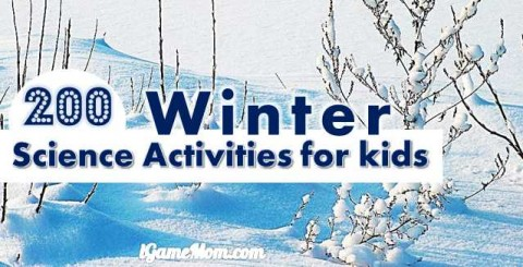Winter science activities for kids