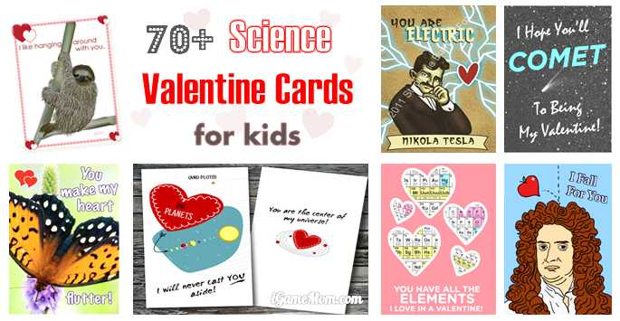 70 Fun Science Valentine Cards For Kids