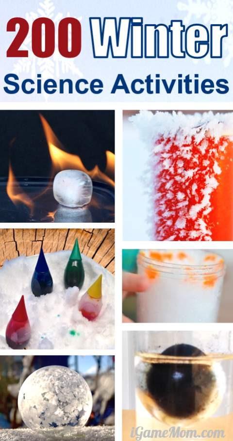 200 winter science activities for kids