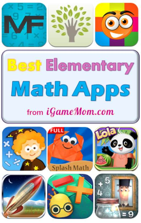 Best math apps for kindergarten elementary school students, grade k to 6