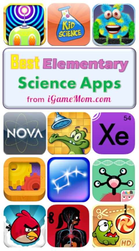 Best science apps for elementary school kids from iGameMom