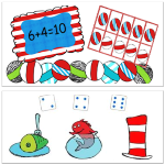 Free Dr Seuss Math Printable Worksheets for Kids post image