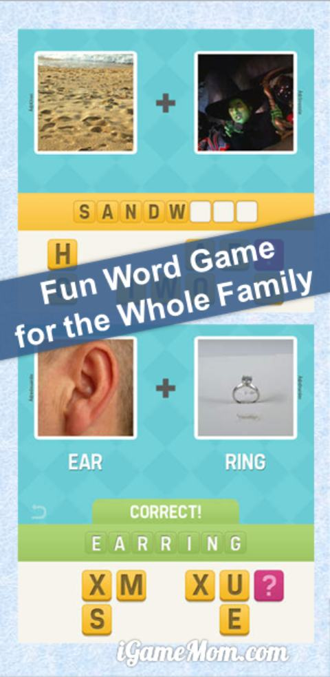 Fun free word game for the whole family