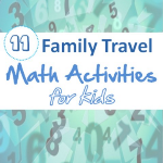 Math Activities for Family Vacation and Holiday Travels post image