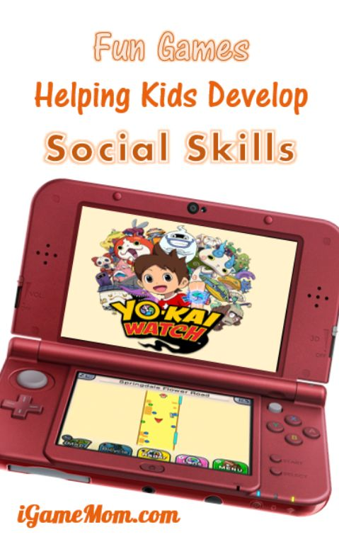 Fun game for kids to learn social skills Yo Kai Watch