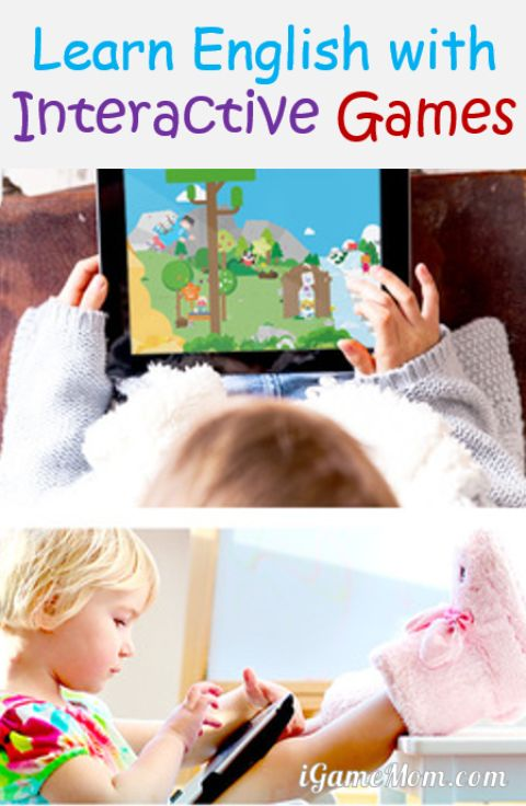 learn English with interactive games - fun app for preschool kindergarten kids